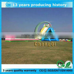 Top popular customized giant inflatable slide for sale