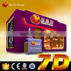 project 7d cinema small cabin designs with gun shooting