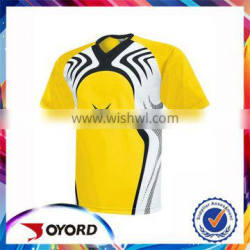 Custom made in China blank soccer jersey no moq limit