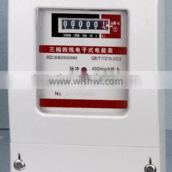 Three-phase electric meter