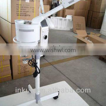 Face sauna spa steamer skin moistening&exfoliating spa facial steamer with stand