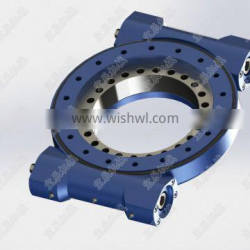 W14 14inch slewing drive dual worm slewing drive china tracking bracket slewing drive manufacturer