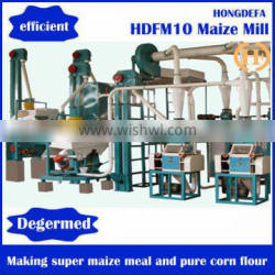 Small Scale Hot Sale 10T Corn Flour Milling Mill Machine