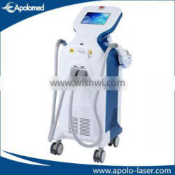 """Luxury 10.4"""" Finger Touch screen IPL SHR Face lifting machine"""