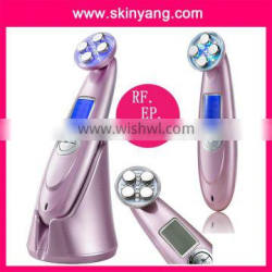 3 IN 1 Rechargeable Ultrasonic Photon RF Radio Frequency Skin Tightening Slimming Firming Machine For Full Body/Leg/Arm