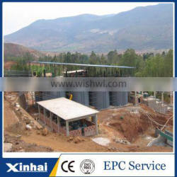 China high efficiency Mining Dual Impeller Agitation Leaching Tank