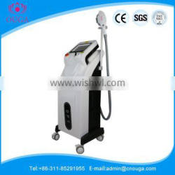 China suppliers opt shr ipl laser hair removal instrument with CE FDA