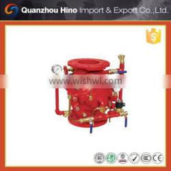 Wet type alarm check and zsfg fire fighting deluge valve system