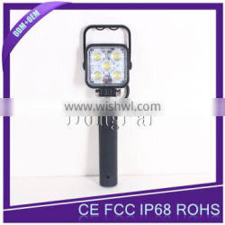 15W Portable LED Battery Work Light with CE RoHS