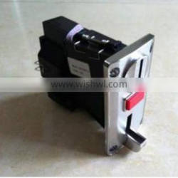 coin acceptor in game machine