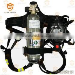 SCBA - Carbon fiber cylinder 3L Breathing Apparatus for security