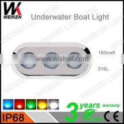 wholesale outdoor swimming pool waterproof 12 volt 180w submersible fountain led lights