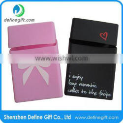 Silkscreen Printing Logo Craft and silicone Material silicone cigar case Quality Choice