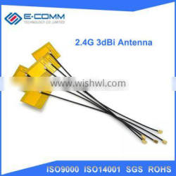 Direct buy from China 2.4g 3dBi tablet wifi internal antenna pcb antenna