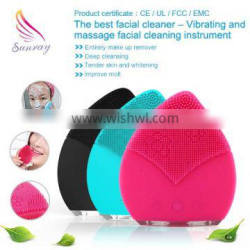 wholesale black beauty supply facial cleansing brush massage beauty tool beauty products brush silicone