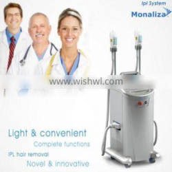 high quality ipl hair removal / mini ipl laser hair removal machine home use