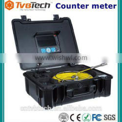 TVBTECH industrial camera for inspection pipe, with 20-40m cable reel