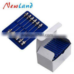 High Quality 12pcs Stainless Steel Needles/luer lock