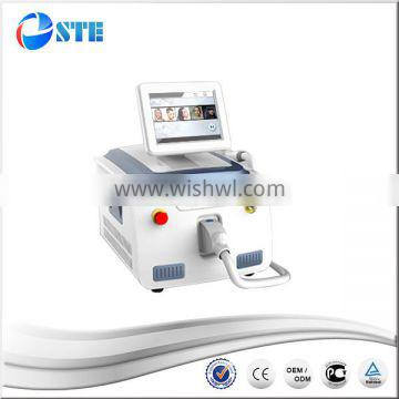 FDA approved soft light laser hair removal mini diode laser 808nm 2016