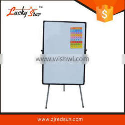 chian interactive whiteboard flip chart easel stand with white board pen