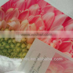 120 gsm Waterproof Polyester inkjet cloth canvas picture led