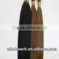 AAAAA Grade hot selling Any color ,Any length ,Silk straight wave 100% human hair bulk accept paypal & escrow payment