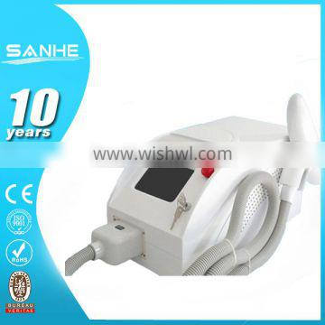 Mongolian Spots Removal Sanhe Beauty Super Tattoo Removal Machine 0.5HZ Q Switch ND YAG Laser/ Laser Tattoo Removal Device