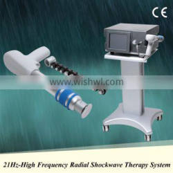 High quality shockwave machine sports injuries with medical CE