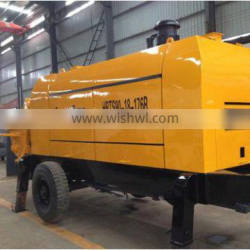 CE approved!!high quality concrete pump for sale, China famous brand diesel concrete pump