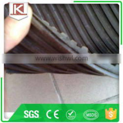 Waiting rooms grooved rubber mat