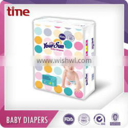 No.1 sales China baby diaper for sensitive&allergic skin protection