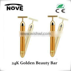 Optical Glass 2016 24K Multi-functional Beauty Equipment Skin Wrinkle Energy Saving Removal Care Tool 24k Nenrgy Beauty Bar CE