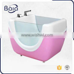 pink acrylic baby bath tub manufacturer