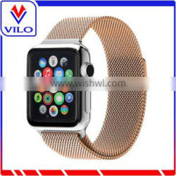 LOW MOQ Magnetic Mesh Milanese loop band for apple watch