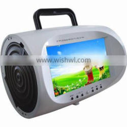 "Portable, Home Use and Yes Include Display 7.5"" inch Portable DVD"