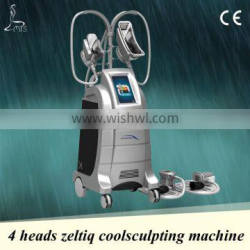slimming device,4 heads,emergency stop&heart rate tester,fast and safe delivery