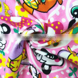 hot selling 220gsm 152cm cotton printed lycra fabric