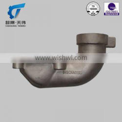 ISO9001 top quality stainless water pump parts drawing casting