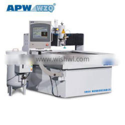 Double Intensifiers Pump and high precisionmetal Diamond Orifice water jet marble cutter with Italian CNC Control System