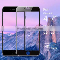 china factory price 9h hardness for iphone 6 tempered glass front and back
