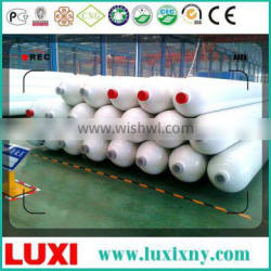cng tube hydraulic filling station 25MPa fuel tanker trailer , cng bundle container semi trailer