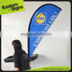 Backpack feather advertising banner flag New product