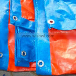 For Billboards For Tent And Truck Cover Orange And Blue Tarpaulin