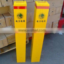 Fiberglass cable lines signs pile manufacture in China