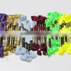 15060803 China wholesale polyester cross stitch hand embroidery thread