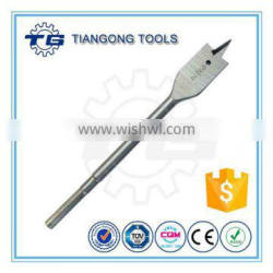 TG High Carbon Steel Double Cutting Wood Flat Drill Bits