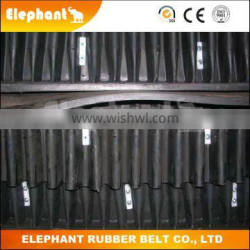 Cleated Conveyor Belt with Wave Sidewall