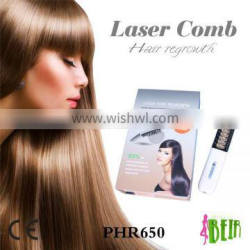 Hair regrowth lasers comb soft cold low level laser comb for hair care salon beauty