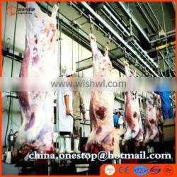 Turnkey Project Cattle Slaughter Line Abattoir Equipment Halal Style