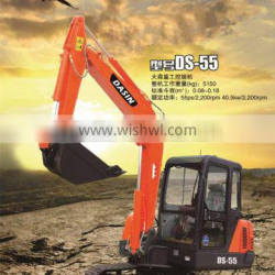 Best quality new products small excavator with air conditioner 5tons
